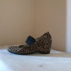 Leather ponies baldinini shoes Italy