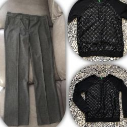 Pants for fall, ideally blouse to them