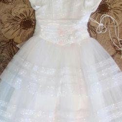 The dress is festive