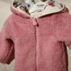 Детская двухсторонняя куртка