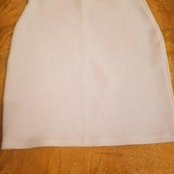White skirt Gloria Jeans