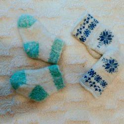 Dog socks mittens 6-12 months.
