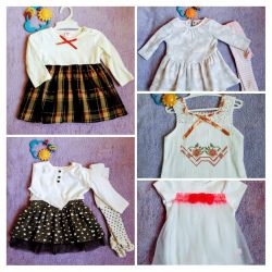 Dresses for girls 2-6 months