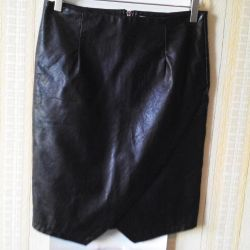 Leather skirt M / L