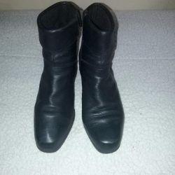 Half boots autumn genuine leather