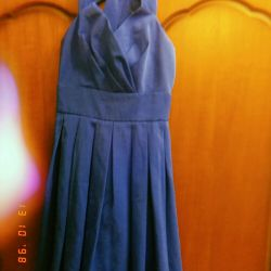 Dress with back bow сзади