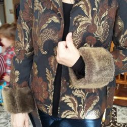 Cool jacket with fur