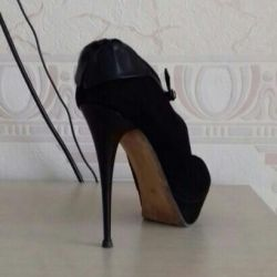 Suede pantofi 38,5-39
