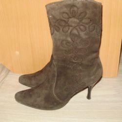 n / μπότες (φυσικό σουέτ)