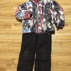 Kış sıcak takım elbise