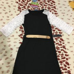 Dress with strap