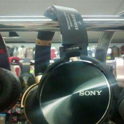Sony AZ-008 black wireless headphones