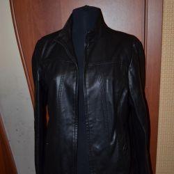Jachetă din piele de marcă