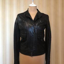 Leather jacket Massimo Dutti