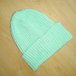 Handmade beanie cap