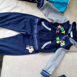 Suit for a boy, new