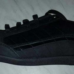 Sneakers for men, leather, new