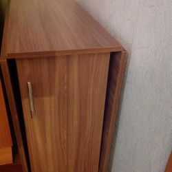 The table-book is new, folding length-173cm
