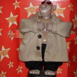 Dancing and singing man surprise toy