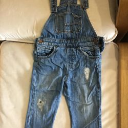 Overalls (jeans) for the boy