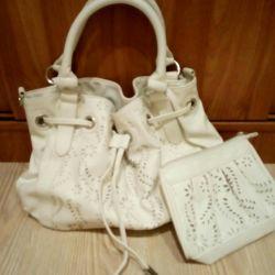 Yeni. Çanta + Kozmetik Çantası