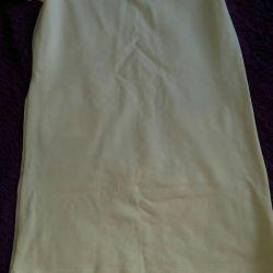 Λευκό φόρεμα καρχαρία