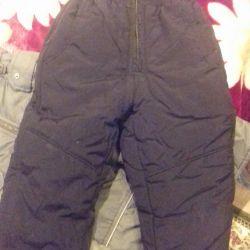 Winter bib overalls