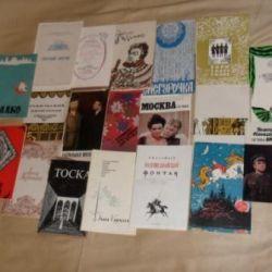 Theater programs 35 pieces 60-80-ies