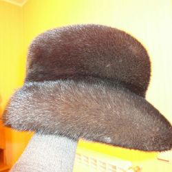 Mink femeie Hat