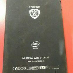 Prestigio multipad wize 3108 3g на запчасти