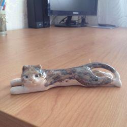 Πορσελάνη ειδώλιο γάτα