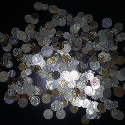 Монеты СССР, Англия, США, ГДР