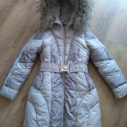 Down jacket kiko 134-140