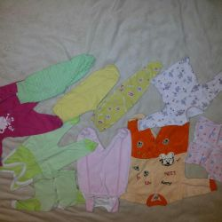 Clothes for girls 56-62