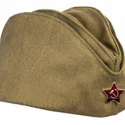 Șapcă militară, reală.