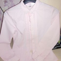Blouse shirt in school