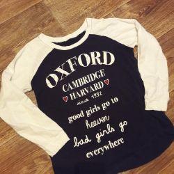 Μακρυμάνικο μπλουζάκι με μακρύ μανίκι
