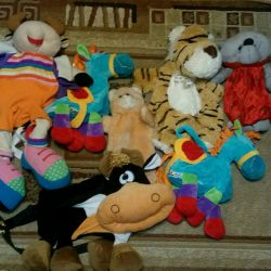 Stuffed toys bags