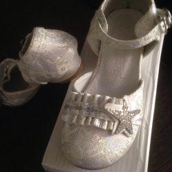 Туфельки для маленькой принцессы рр.25