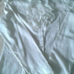Blouse for the girl silk