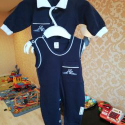 Set semi-overalls jacket Lucky child 56-62
