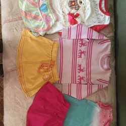 A package of things for a girl 2-3 years old