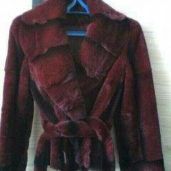 Rabbit fur coat New!