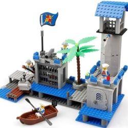 Designer KAZI 87012 Pirate base, new