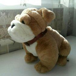 Dog soft toy. New