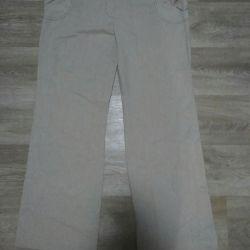 Women's summer pants. The size 48-50