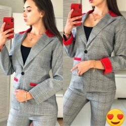 Trouser suit new