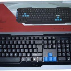 Νέο σετ πληκτρολογίου και ποντικιού Jedel WS880 021281