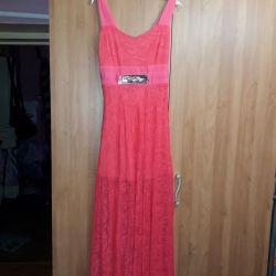 Uzun maxi elbise