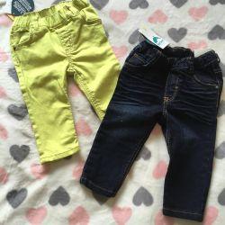 Новые детские джинсы 74-80